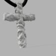 Download free OBJ file Vikings Cross • 3D print design, quaddalone