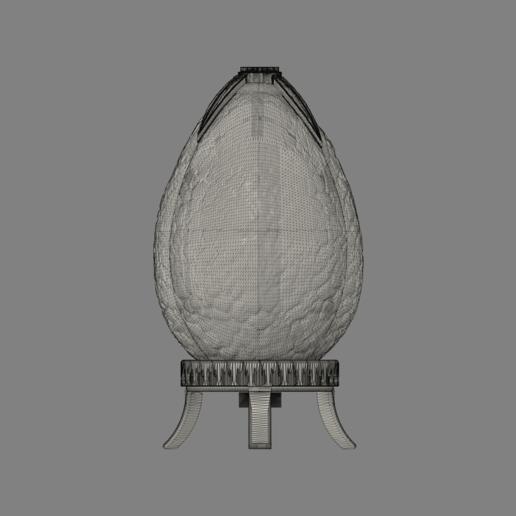 Harry Potter Egg(close_front2).png Télécharger fichier OBJ gratuit Modèle d'impression 3D de Harry Potter et la Coupe de feu (Oeuf) • Objet à imprimer en 3D, quaddalone