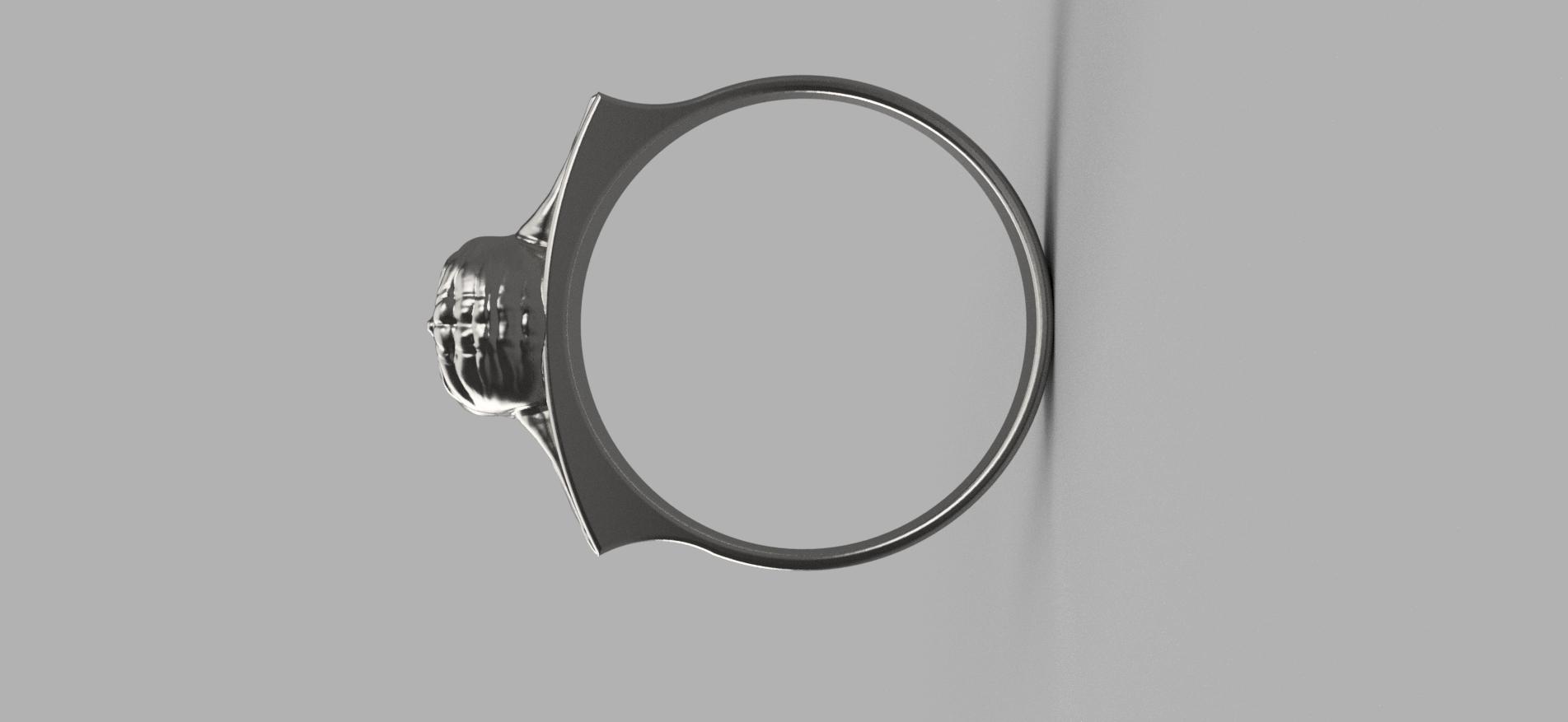 Baby_Yoda_Ring_17mm_Cut(FINAL)8.png Télécharger fichier STL gratuit Bébé Yoda Ring • Plan pour imprimante 3D, quaddalone