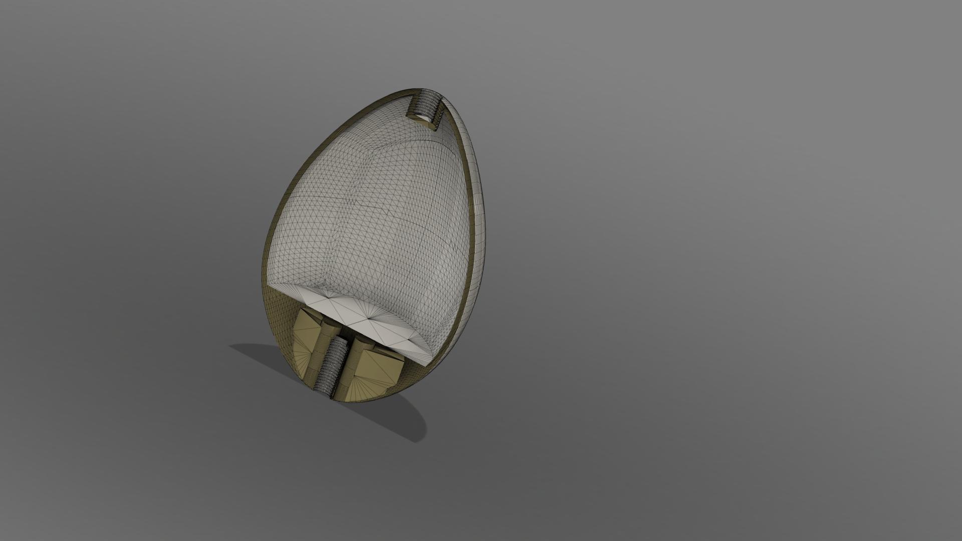 Яйцо_Mesh v1.png Télécharger fichier OBJ gratuit Modèle d'impression 3D de Harry Potter et la Coupe de feu (Oeuf) • Objet à imprimer en 3D, quaddalone