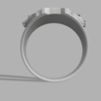 Download free STL file Cailo Ren Mask Ring • 3D printable template, quaddalone
