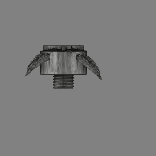 Harry Potter Egg v4.png Télécharger fichier OBJ gratuit Modèle d'impression 3D de Harry Potter et la Coupe de feu (Oeuf) • Objet à imprimer en 3D, quaddalone
