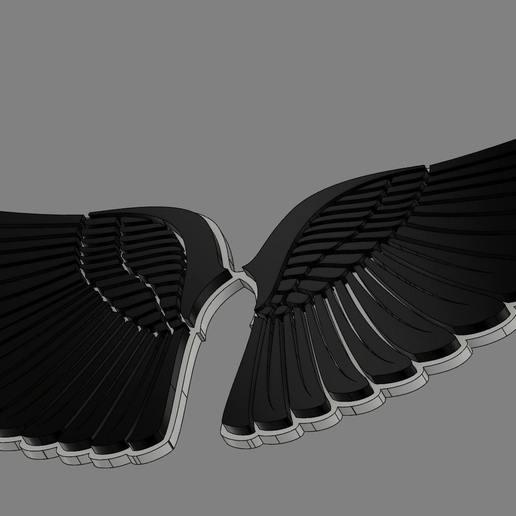 2.jpg Download free OBJ file Angel Wings • Object to 3D print, quaddalone