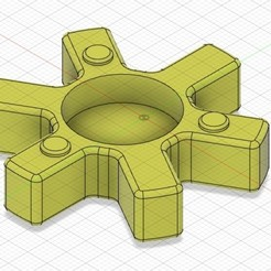 Descargar Modelos 3D para imprimir gratis Eje flexible de acoplamiento de hierro, alhyanmohamed