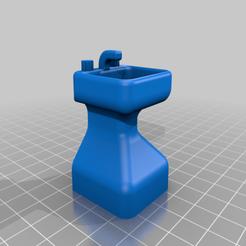 Télécharger fichier imprimante 3D gratuit Duplo Sink, xEliteAnubisx