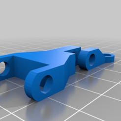 Download free 3D printer designs Blower Fan Mount, xEliteAnubisx