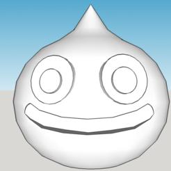 Download free 3D printer designs Dragon Quest Slime, xEliteAnubisx