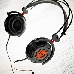 Download free 3D model Gears of War Headphones, xEliteAnubisx