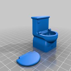 Télécharger modèle 3D gratuit Toilettes Duplo avec siège, xEliteAnubisx