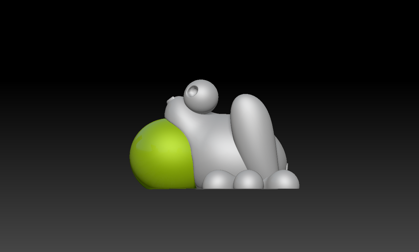 2020-02-07 (1).png Download free STL file Cute Froggy  • 3D printing design, marmitage
