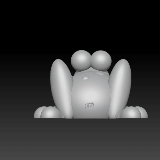 2020-02-07 (2).png Download free STL file Cute Froggy  • 3D printing design, marmitage