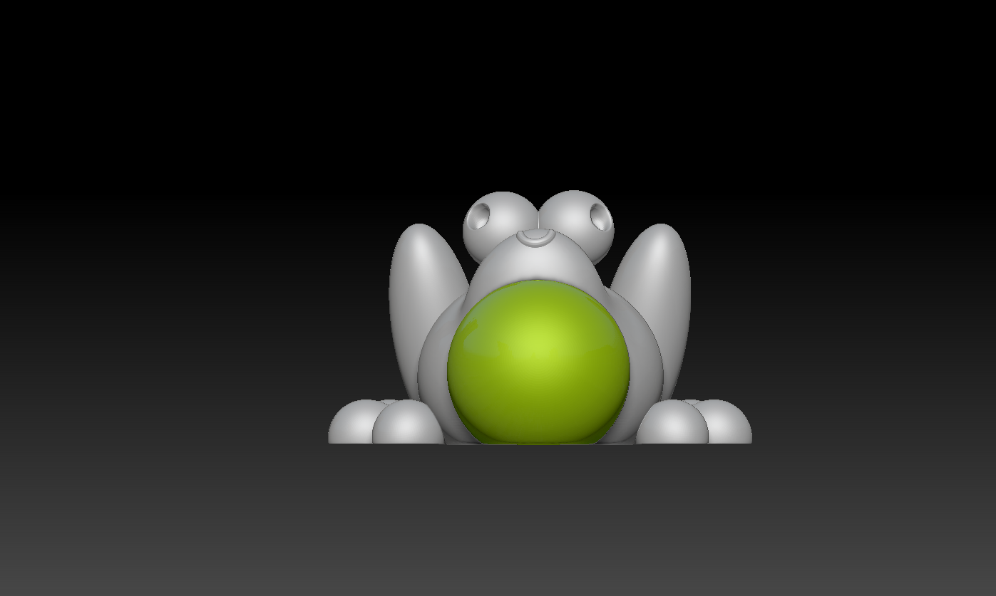 2020-02-07.png Download free STL file Cute Froggy  • 3D printing design, marmitage