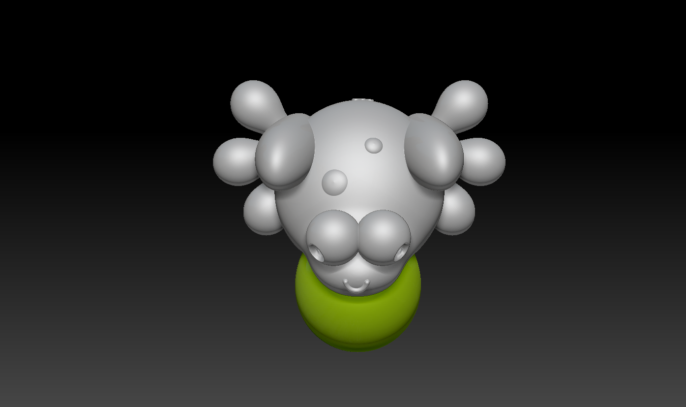 2020-02-07 (4).png Download free STL file Cute Froggy  • 3D printing design, marmitage
