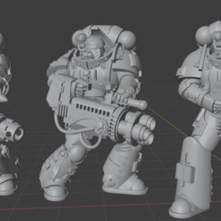 2020-07-23_23-53-27.png Download free STL file PURIFIERS OF TITAN HEAVY ASSAULT FORCE • Object to 3D print, GobotheFraggle