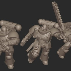 2020-09-01_21-35-14.jpg Download free STL file Jarhead Assault Force • Object to 3D print, GobotheFraggle