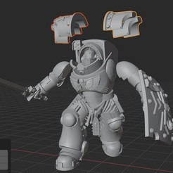 2020-08-29_3-22-50.jpg Download free STL file Agressor Terminator Body • 3D printer model, GobotheFraggle
