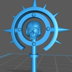 2020-06-04_21-16-49.jpg Download free STL file Skull Ring Decoration • Object to 3D print, GobotheFraggle