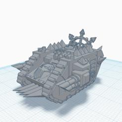 Descargar STL gratis Tanques de traidores, CygnusM