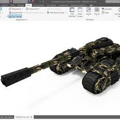 Captura.JPG Télécharger fichier STL Char de guerre • Modèle pour imprimante 3D, ingjhonmurillo