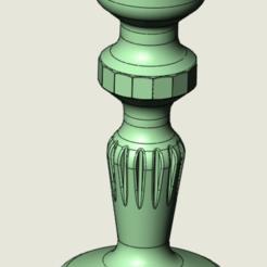 Télécharger fichier STL Bougeoir 03 • Objet à imprimer en 3D, intermechaniker