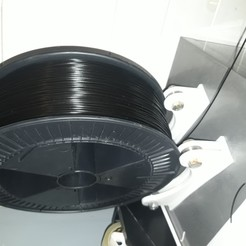 Descargar archivo 3D gratis soporte de la bobina 2.5k a 1kg, triple-andouille