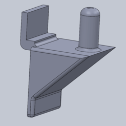 Download free 3D print files shelf bracket, triple-andouille