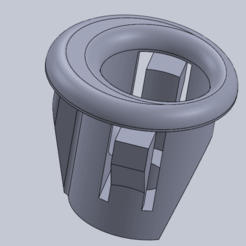 Download free 3D printing models built-in oven mounting bolt, triple-andouille