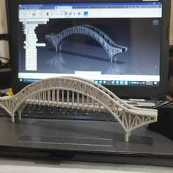 1.jpeg Download STL file Puente de las Américas Panamá / Bridge of the Americas Panama • 3D printable design, LozuryTech