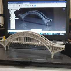 Download STL file Puente de las Américas Panamá / Bridge of the Americas Panama • 3D printable design, LozuryTech