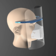Download free 3D model Acetate Chalk for Physicians COVID-19 (under development), LozuryTech