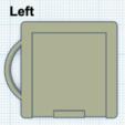 Télécharger fichier STL gratuit Porte-étiquette de film 120 avec porte-clés, thinbegin