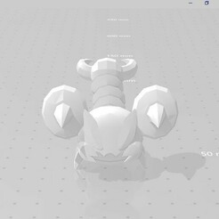 20201227_030706.jpg Download STL file skorupi pokemon • Template to 3D print, marucho
