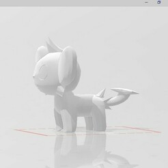 20201227_030916.jpg Download STL file shinx pokemon • 3D printing design, marucho