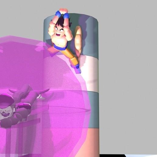 Télécharger fichier STL gratuit goku et congélateur • Objet à imprimer en 3D, ArturoDPendragon