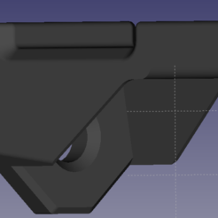 FreeCAD 0.18 8_29_2020 12_44_36 AM.png Download free STL file headphone holder • 3D print template, thiagomirabella