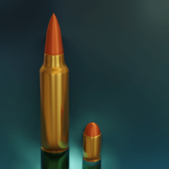 balas.png Download STL file 9mm and 7.66 bullets • 3D print template, alextab