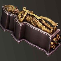 2.jpg Download STL file Sarcophagus • 3D printing template, Haridon