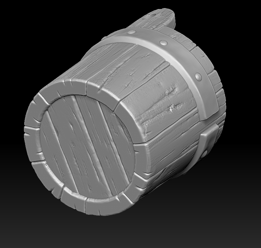 23.jpg Download STL file witch bucket • 3D printable template, Haridon