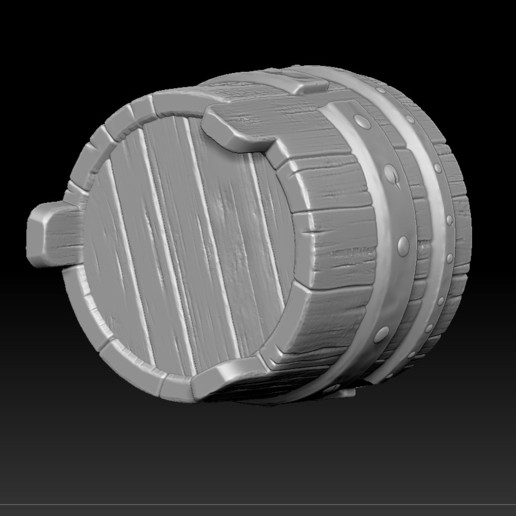12.jpg Download STL file witch bucket • 3D printable template, Haridon