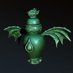 2.jpg Télécharger fichier STL urne gargouille • Design pour imprimante 3D, Haridon