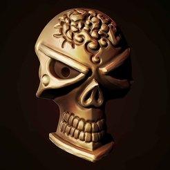2.jpg Download STL file Pirate skull • 3D print model, Haridon