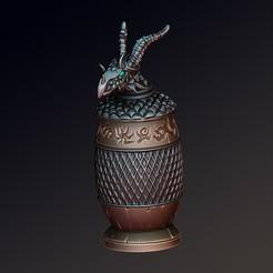 Télécharger STL Urne du dragon, Haridon