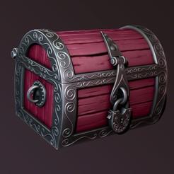 Download 3D printer model magic chest, Haridon