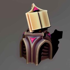 Download 3D printer files Temple Lootbox, Haridon