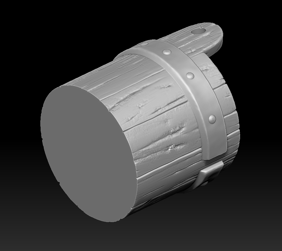 26.jpg Download STL file witch bucket • 3D printable template, Haridon