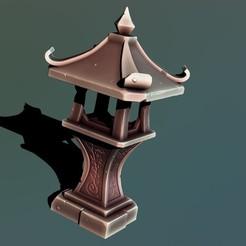 2.jpg Télécharger fichier STL Sanctuaire de pierre • Objet à imprimer en 3D, Haridon