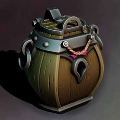 Download STL file Barrel chest, Haridon