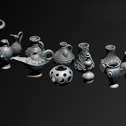 Download 3D printing templates Vases, Haridon