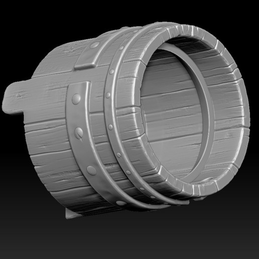 14.jpg Download STL file witch bucket • 3D printable template, Haridon