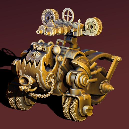 Download 3D printing templates Wardog, Haridon